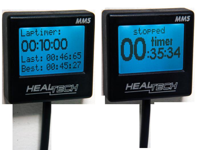 MM5 - режим лаптаймера и секундомера